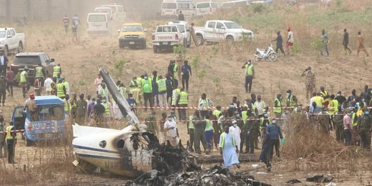 NAF releases names of personnel involved in military crash
