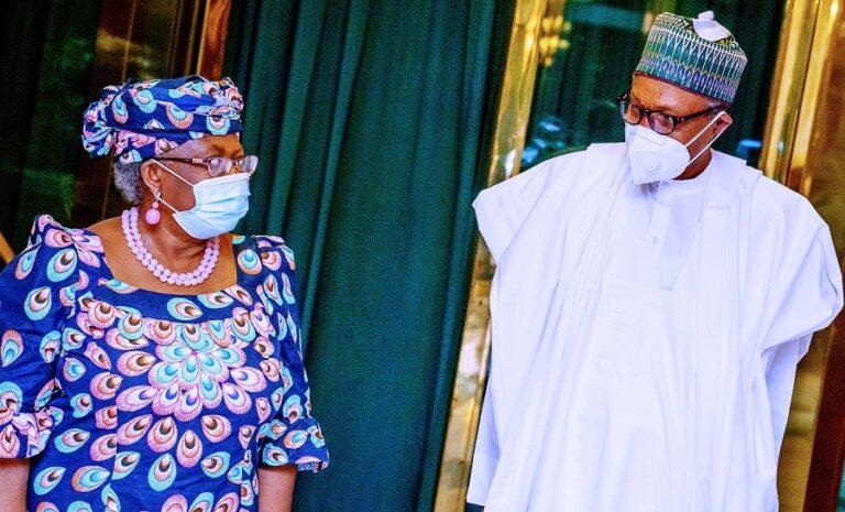 WTO: Buhari congratulates Okonjo-Iweala, says 'your emergence brought more honour to Nigeria'