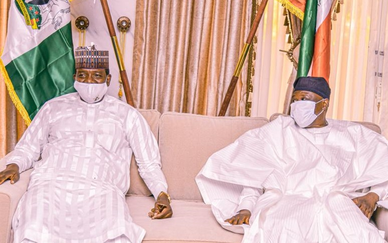 Governors Matawalle and Fintiri