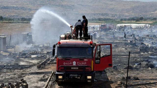 Iraq Fire