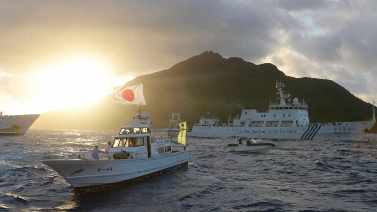 Japan to open fire on foreign vessels entering its territorial waters