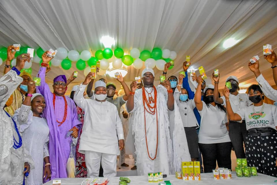 The Ooni of Ife, Ooni Adeyeye Enitan Ogunwusi Ojaja II, on Thursday unveiled series of traditional medicines made from local herbs for boosting human's immune system against infectious diseases, including the rampaging Coronavirus disease.