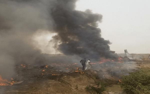 NAF says 7 personnel perish in Abuja crash