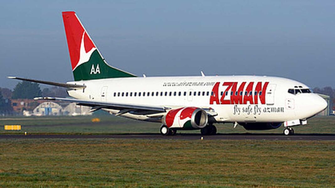 One of AZMAN's Boeing 737 grounded by NCAA