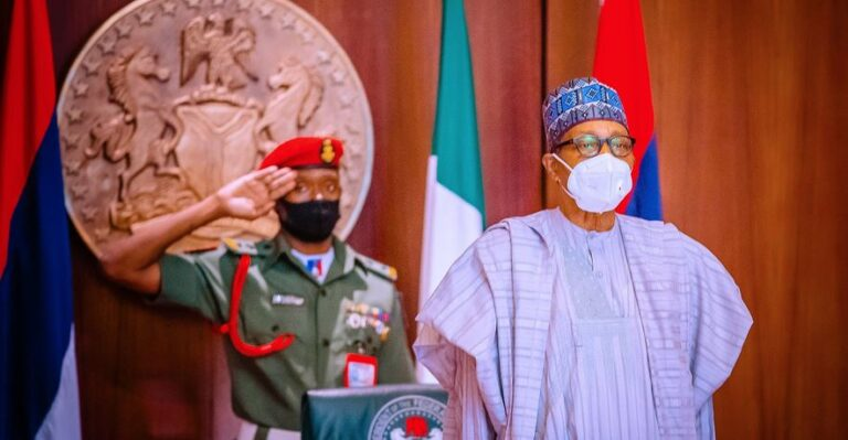 Buhari presides over National Security Council meeting, ministers, security chiefs in attendance