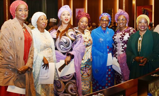 Presidency releases list of 50 women appointed by Buhari to celebrate International Women's Day