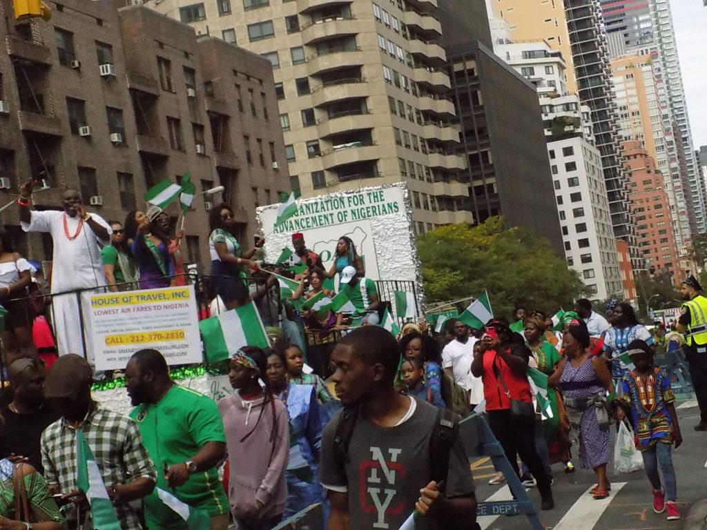 FILE PHOTO - Nigerians in New York