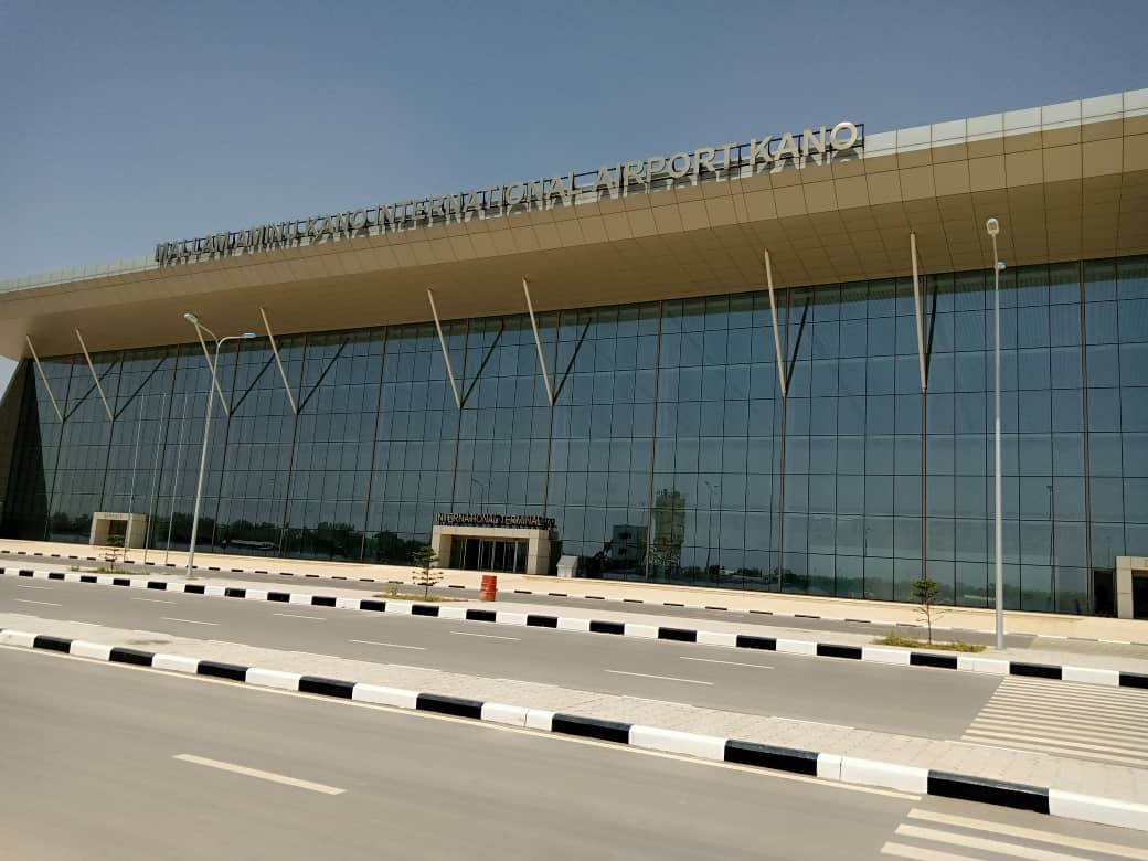 The new international terminal of Mallam Aminu Kano International Airport