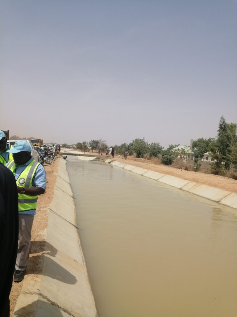 Irrigation: Nigerian gov't hands over 7 additional rehablitated canals to Kano farmers