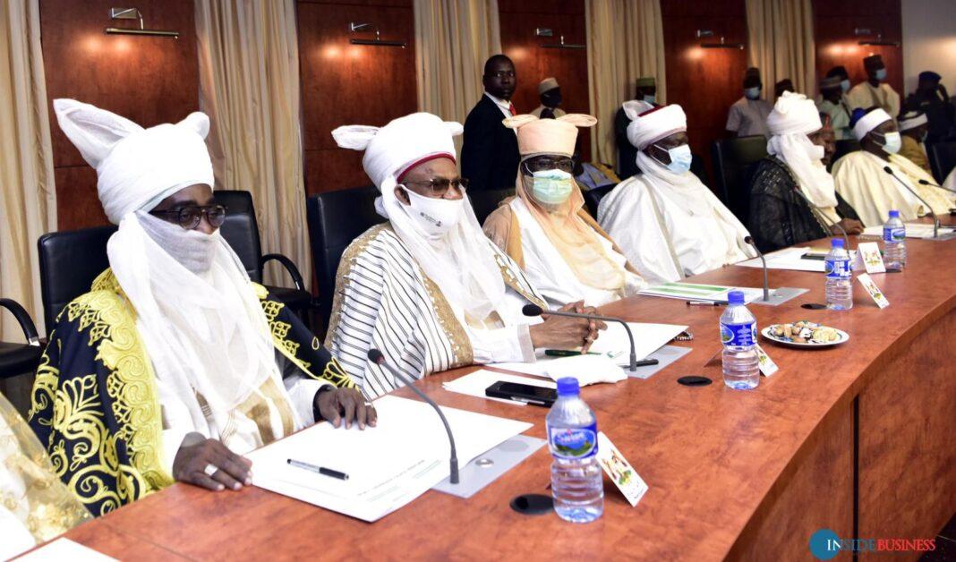 Kaduna traditional rulers meeting