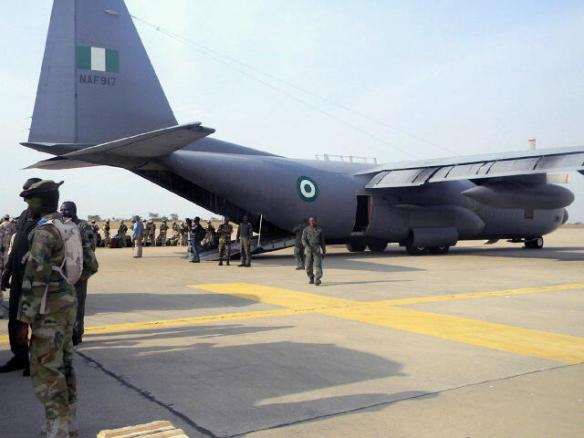 Nigerian Air Force begins airlift of COVID-19 relief materials to West African countries