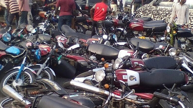 FCT VIO recovers 7,000 motorcycles stolen during #EndSARS protests