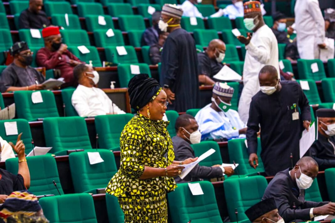 Rep Taiwo Oluga, who is the Chairman, House Committee on Women in Parliament,