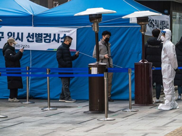 New cases spike to over 1,700 in South Korea