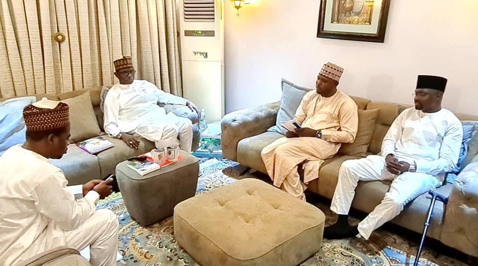 The trio of Abubakar Kagu, Sheriff Almuhajir and Aliyu Chikaji, informed the governor that the students had since completed registration and commenced lectures.
