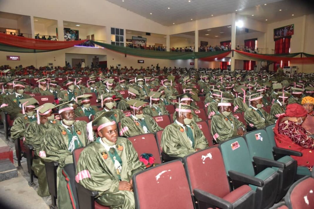 NDA matriculates 541 cadets of 72 Regular Course - Daily Nigerian