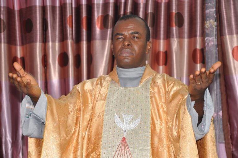 Presidency fires back at Mbaka, says cleric demanded contracts from Buhari