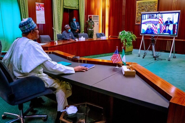 Security: Buhari seeks U.S assistance, urges relocation of AFRICOM's headquarters to Africa
