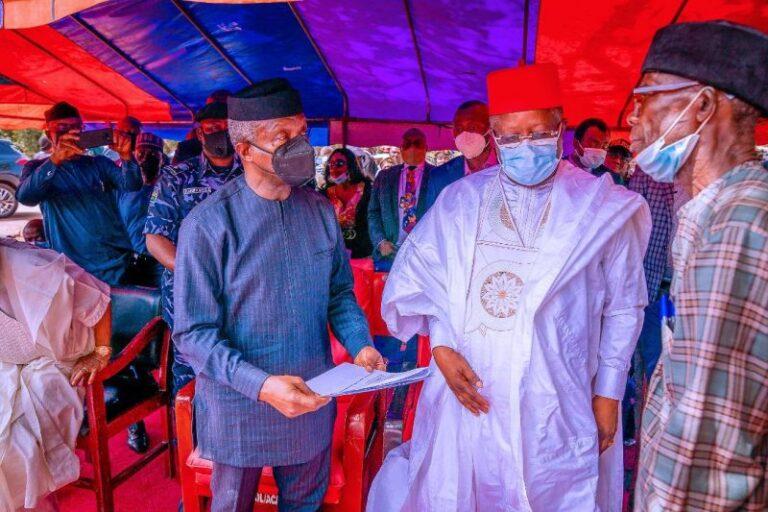 Effium killings: Osinbajo visits Ebonyi, promises justice for victims