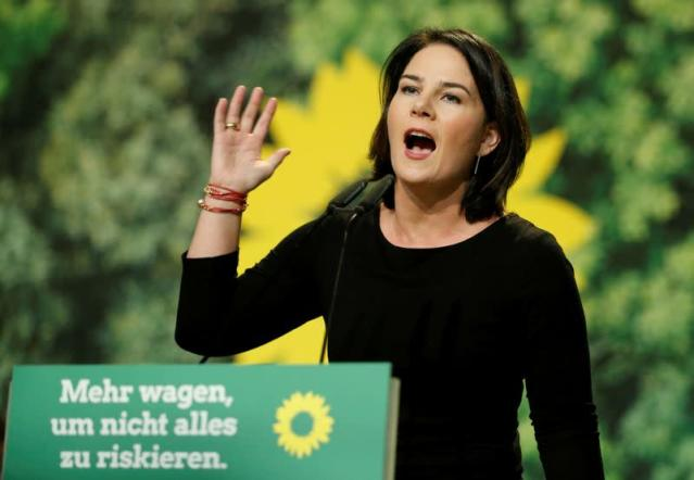 Germany's surging Greens to name candidate for chancellor