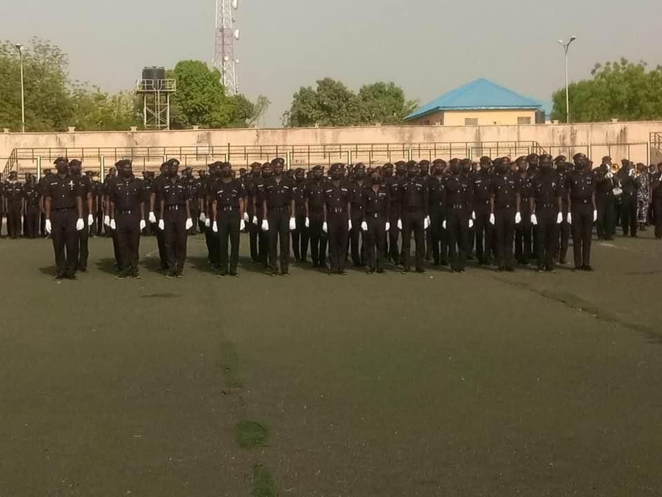 Kano special constabularies