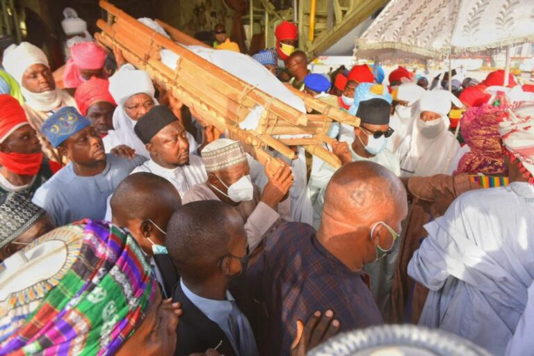 Kano emirs mother buried