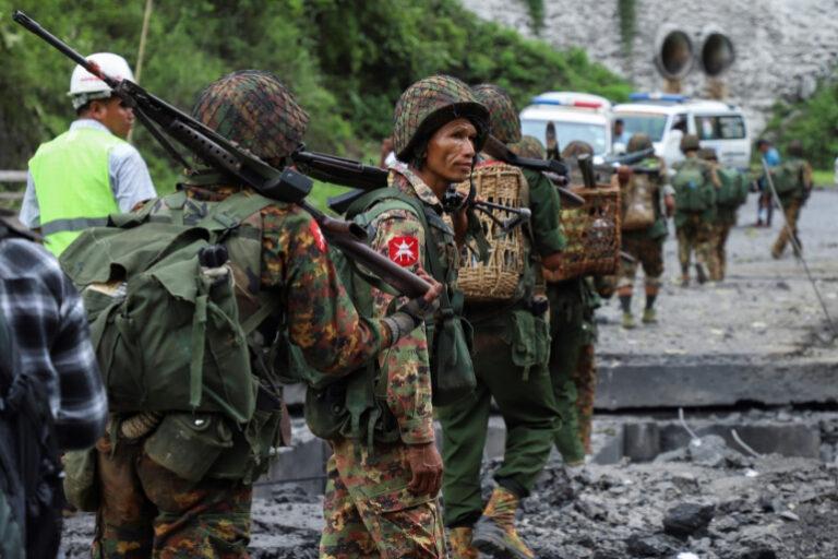 Rebel group seizes military outpost in Myanmar near Thai border