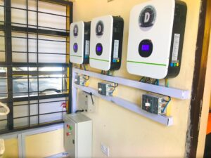 NADDC Boss commissions first solar powered electric vehicle charging station