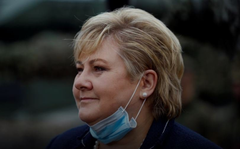 Norwegian police said on Friday they have fined Prime Minister Erna Solberg for breaking COVID-19 social distancing rules.