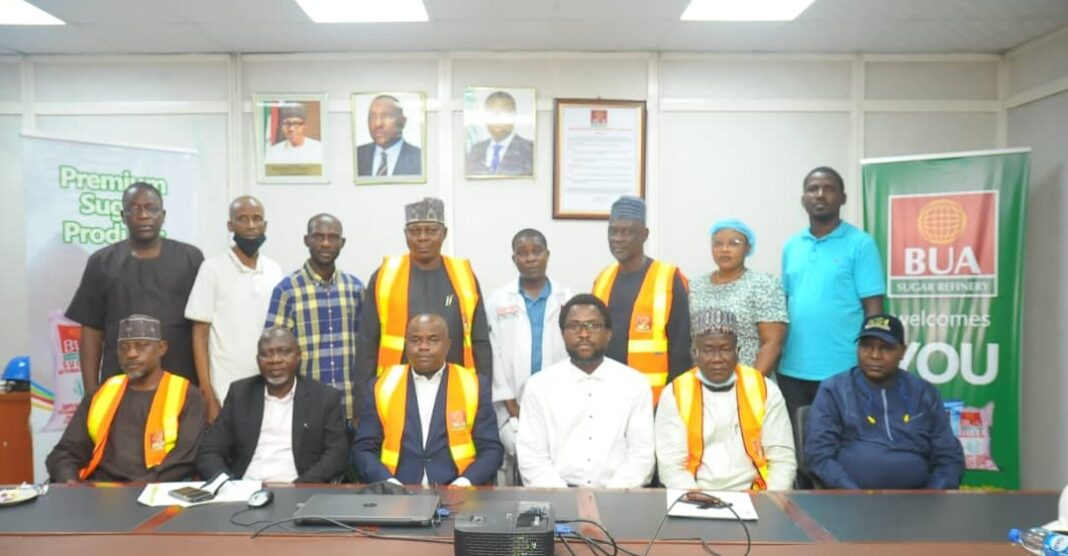 NSDC familiarization visit to sugar refineries in Lagos state