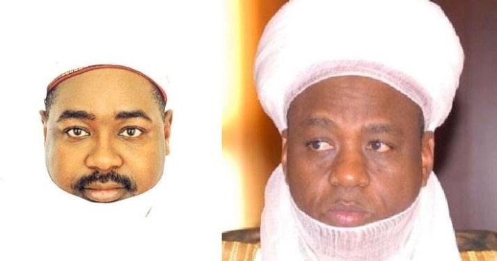 Sultan and Magajin Garin Sokoto