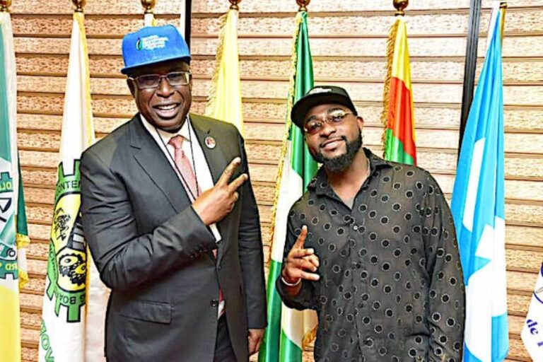 Sylva hosts Davido, says Nigerian govt committed to youth empowerment