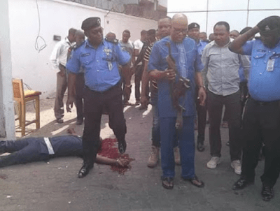 Imo police confirm Owerri robbery, debunk fire in assembly complex