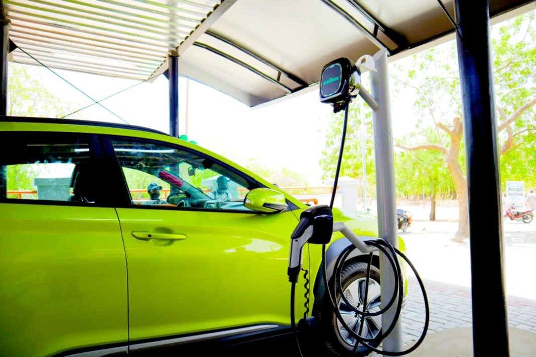 First solar powered electric vehicle charging station commissioned in Sokoto