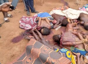 Gory picture of Fulani herders killed in Anambra