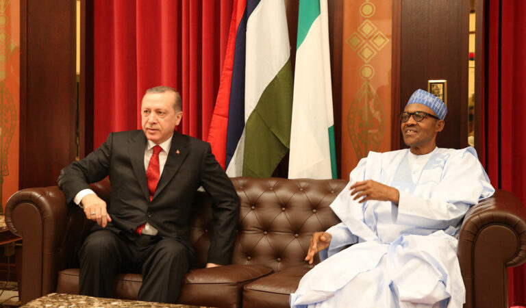 Turkish President Erdoğan speaks with Buhari, wants Nigeria to support Palestine