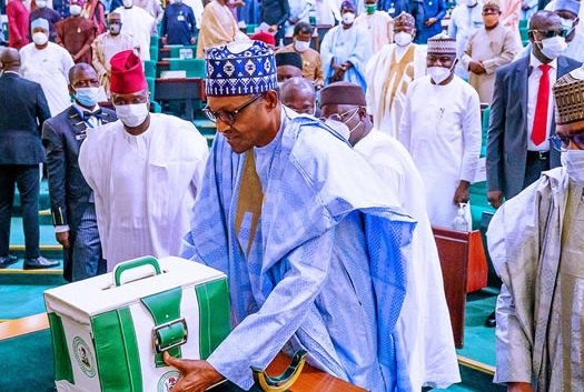 Buhari at NASS