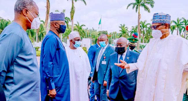 Buhari meets Ghanaian President Akufo-Addo