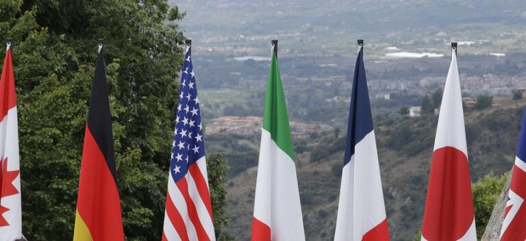 Human rights, threats to democracy in focus on day two of G7 meeting