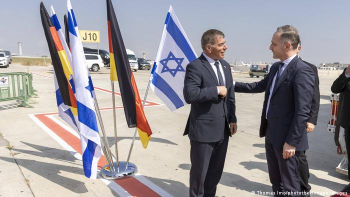 German Foreign Minister arrives in Israel for talks on Gaza conflict