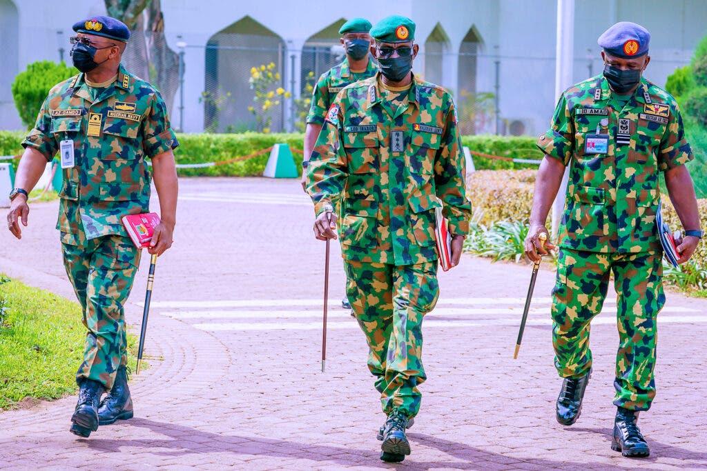 Nigerian Military Service Chiefs