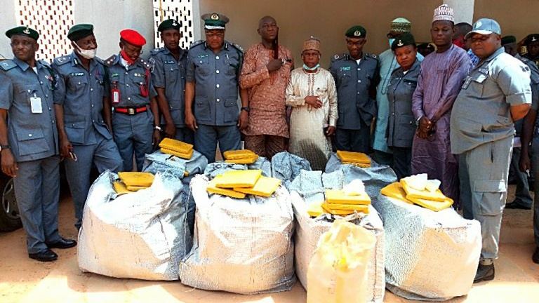 Nigerian Customs hands over N22m worth of contraband drugs to NDLEA