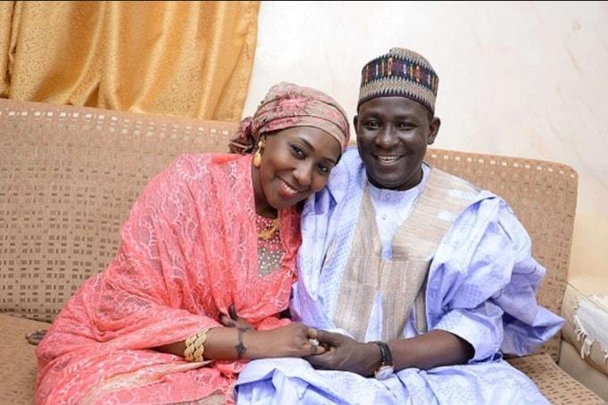 Yau Kumo and Buhari daughter