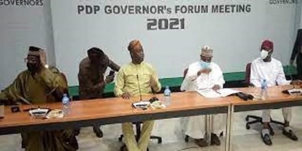 PDP governors meet in Ibadan