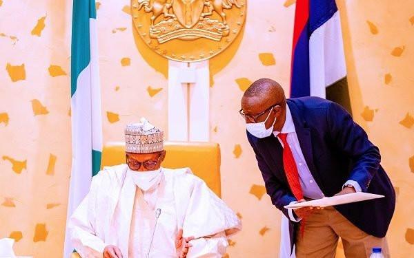 JUST IN: Buhari presides over emergency security meeting