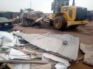 FCTA demolishes over 349 illegal structures in Lugbe