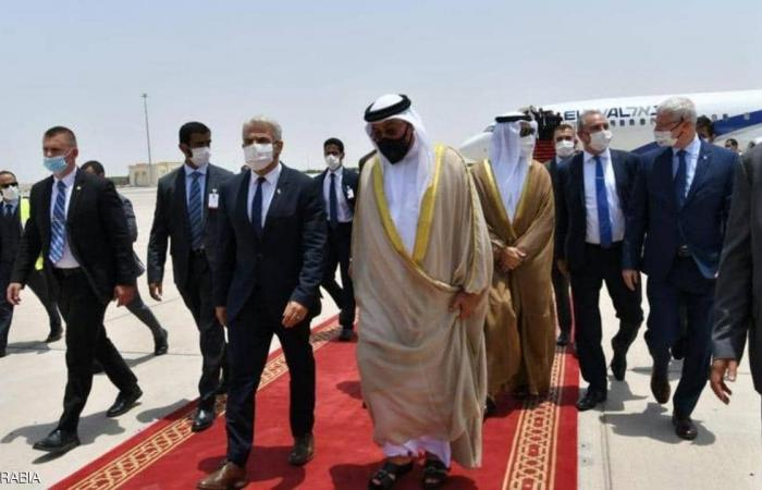 Israeli foreign minister arrives UAE for first-ever visit