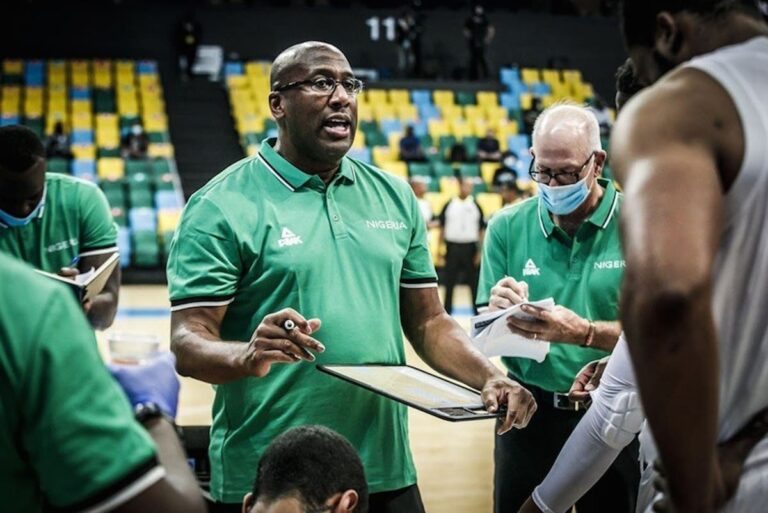 Mike Brown prepares to make Olympic history with Nigerian national team