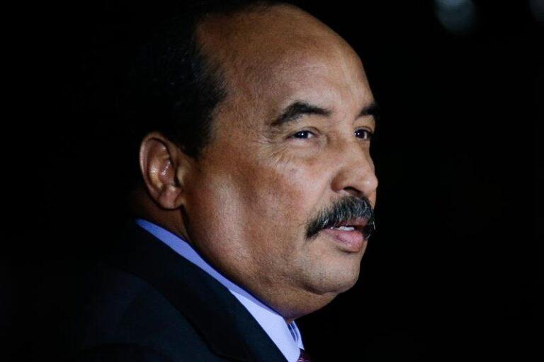Mauritania arrests former president amid corruption probe
