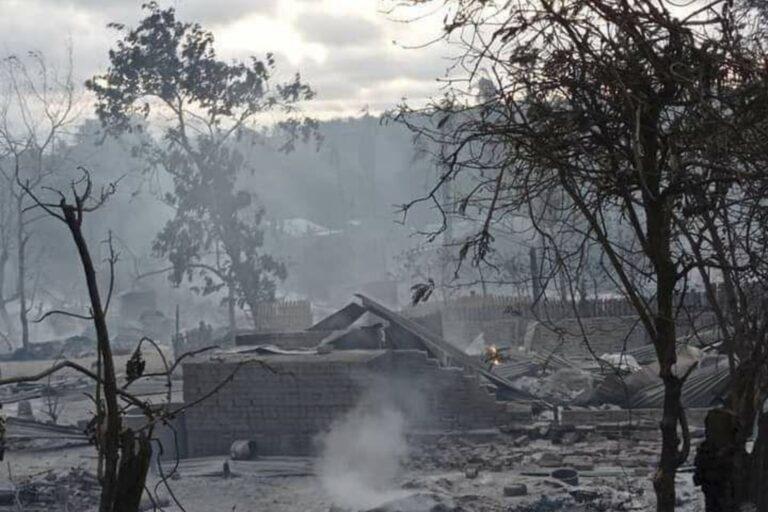 Myanmar's junta burns down entire village – Reports